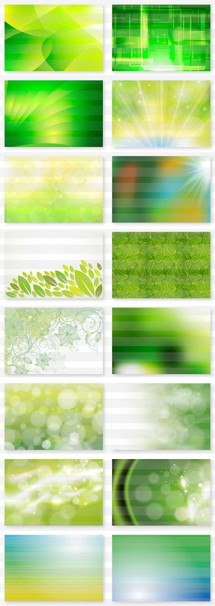 緑色・若草色系の背景素材集| illustratorの背景素材集